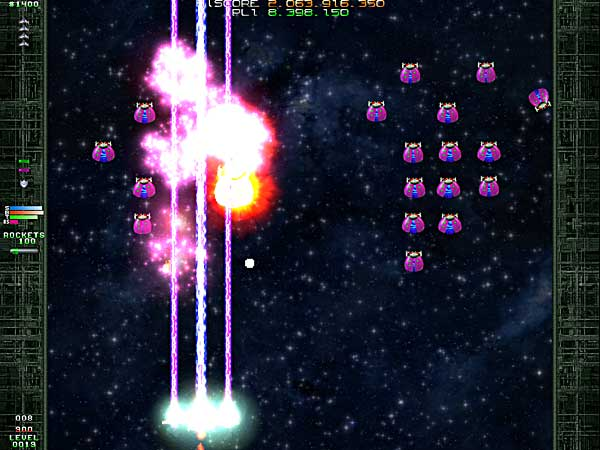 pc game, arcade, shoot'em up, galaga, deluxe galaga, action